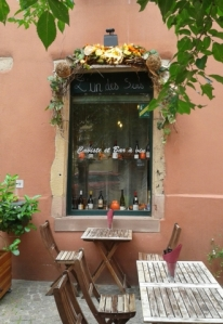 L'Un des Sens Wine Bar, Colmar, by Sue Style