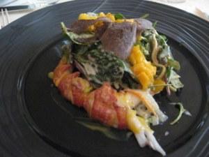 Lobster and truffles at Taverne Alsacienne, Ingersheim
