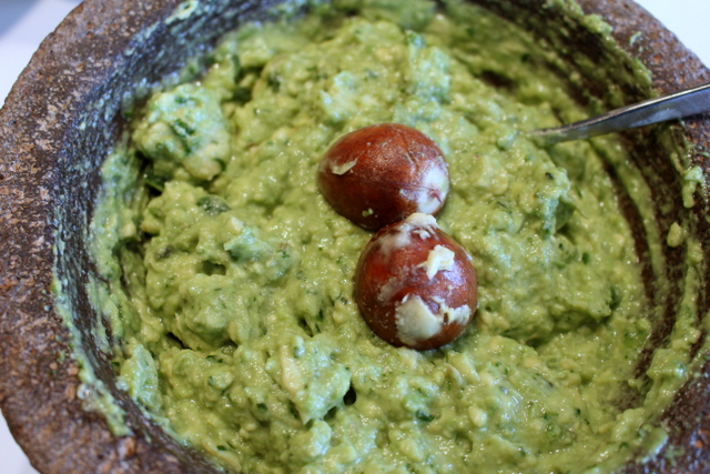 Guacamole: the Green and the Brown ofit