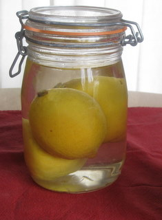 Citrons Confits, recipe from Thierry Voisin, by Sue Style