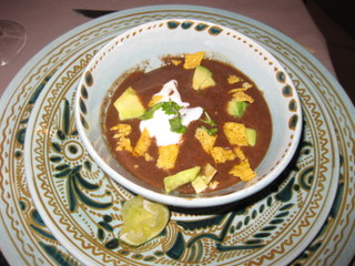 Mexican bean soup/sopa de frijoles by Sue Style