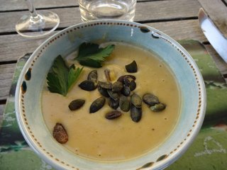 Sue Style's fennel soup with mussels