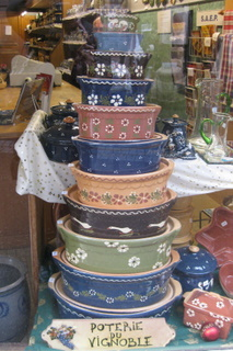 Baeckeoffe pots in shop window by Sue Style-1