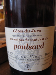 NOT a rosé, but Ludwig Bindernagel's Poulsard