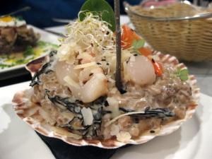 1-Albarama risotto scallops