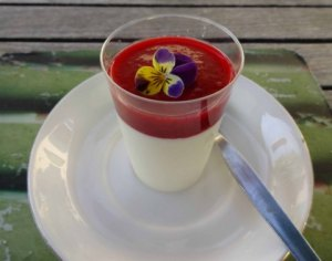 1-white choc mousse