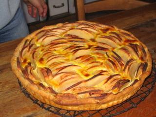 Madame Faller's tarte aux pommes