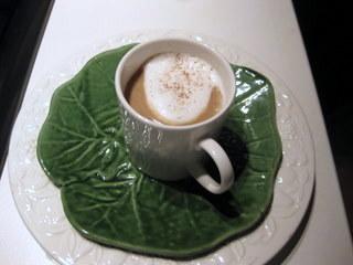 Sue Style's mushroom 'cappuccino'