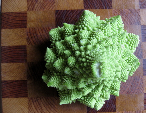 Whole Roasted Romanesco: Good Idea or A Waste of a Fine Vegetable?