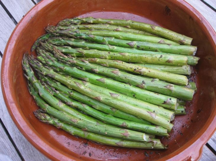 asparagus in cassola