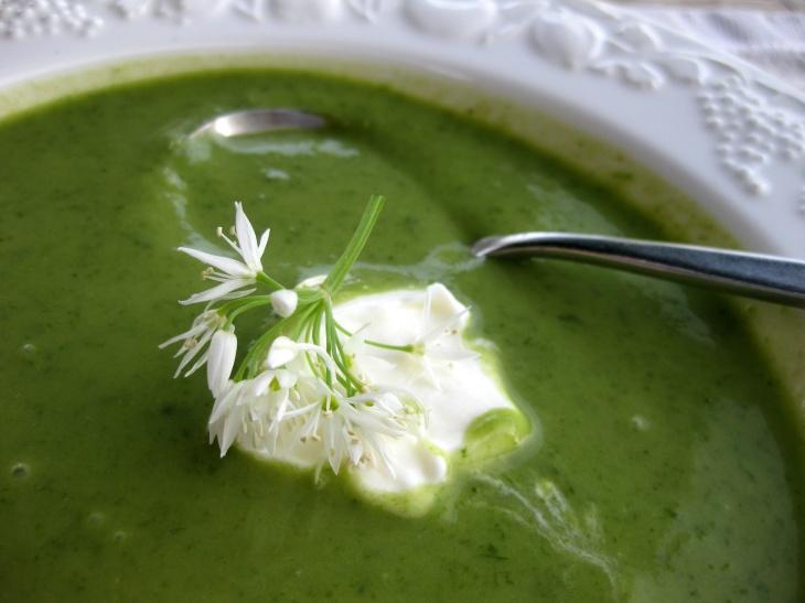 asparagus & wild garlic soup (1)