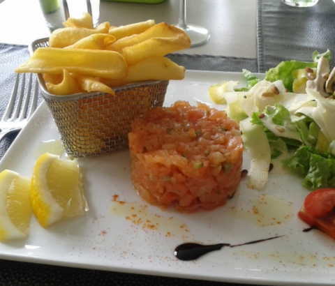 Sue Style Fish 'n chips A Table chez Marie Hagenthal le Bas