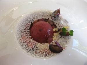 Grape dessert, Villa René Lalique, ©Sue Style