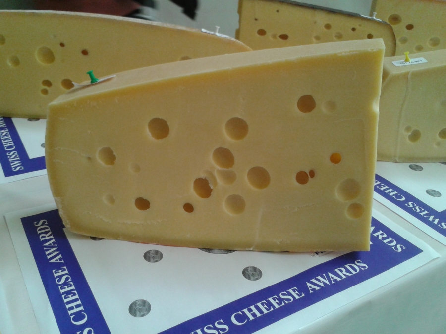 Let's hear it [again] for Emmentaler!