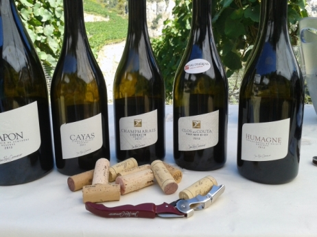A selection of Jean-René Germanier's wines