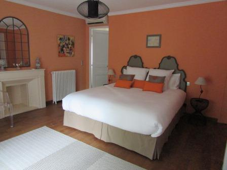 Our bedroom at Villa M, photo from their website