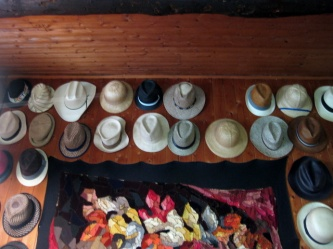 Ivo Monti's hat collection