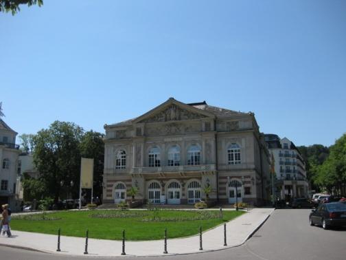 The theatre in Baden-Baden