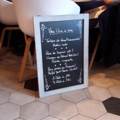 lunch menu midweek