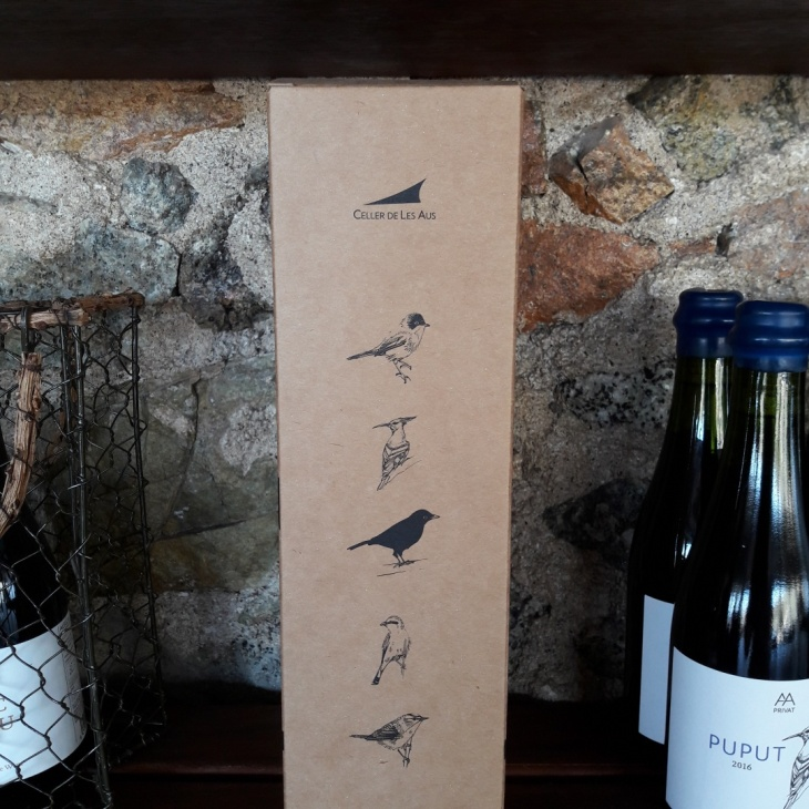 natural wines with birds